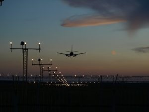 How safe is flying at night