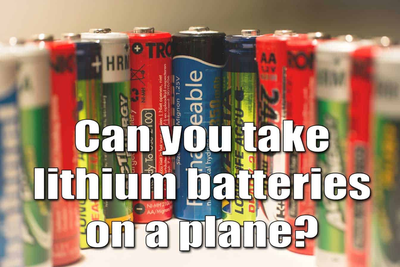Why Are Lithium Batteries Not Allowed On Airplanes Grepow Blog