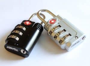 Should I lock my luggage when flying internationally? TSA approved luggage locks.