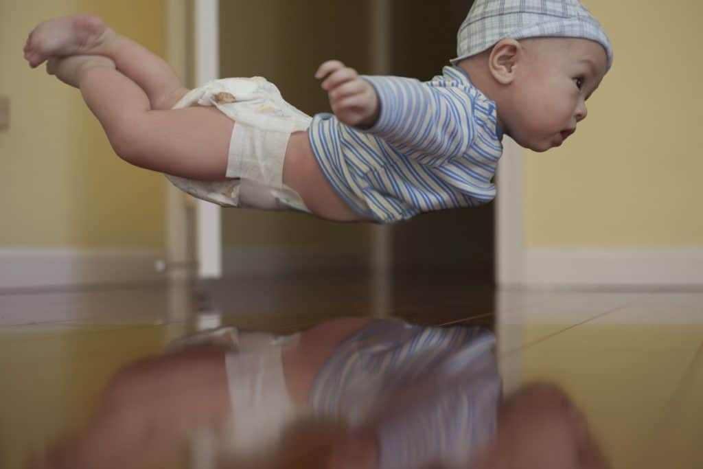 When is the earliest a baby can fly?