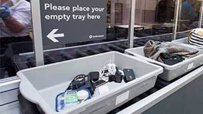 What can I expect at airport security?