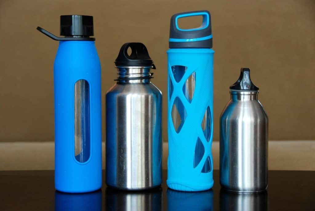 Can you take an empty stainless steel water bottle on a plane?