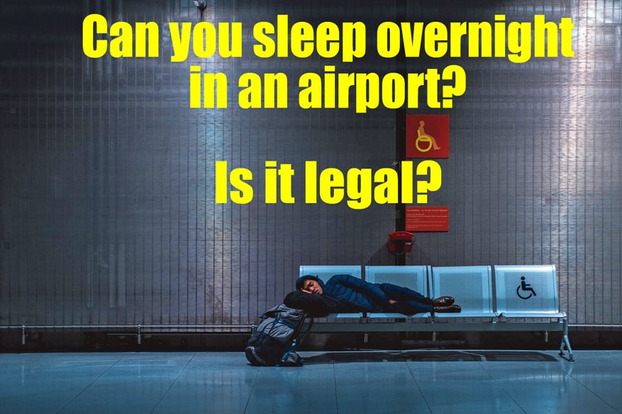 Can you sleep overnight at an airport