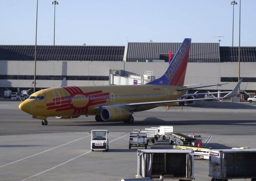 southwest airlines domestic flight