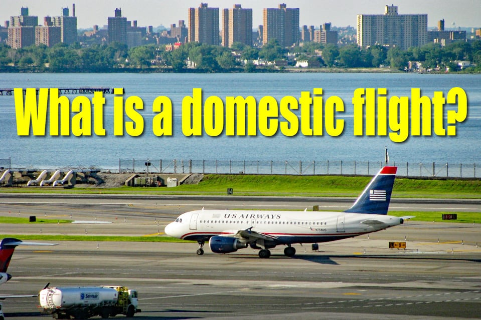what is a domestic flight