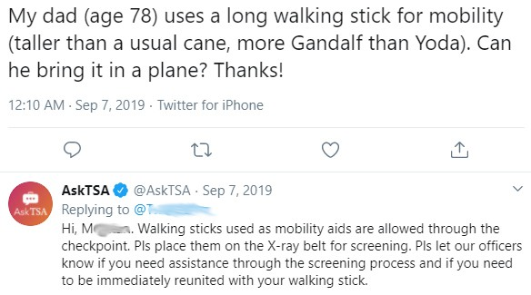Can you Take a Zimmer Frame on a Plane? 4