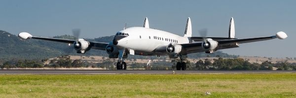 How high could a piston engine commercial airliner fly - Lockheed Super Constellation