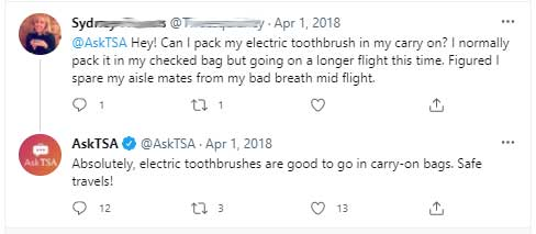 Can You Take an Electric Toothbrush on a Plane? 1