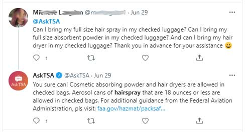 Can You Bring Hairspray on a Plane? 2