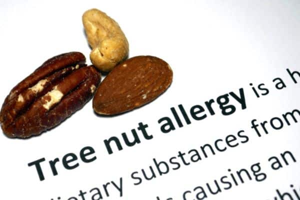 Passengers with nut allergies