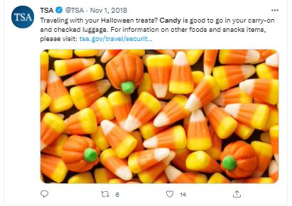 Can You Take Candy on a Plane